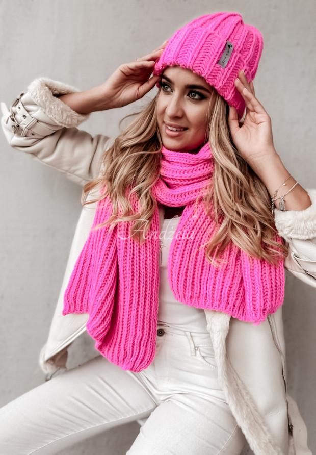 Czapka Flurry Neon Pink