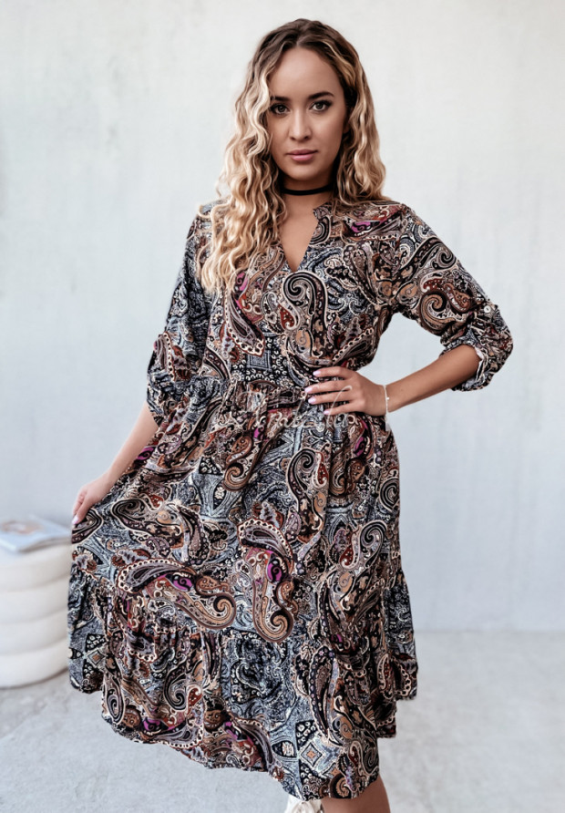 Sukienka Camasia Brown