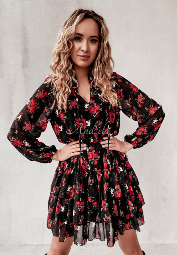 Sukienka Ardenn Dots&Roses Black