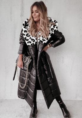 Płaszcz Oversize Greende Panter Black&White