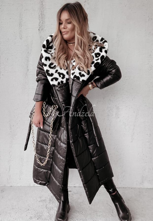 Płaszcz Greende Panter Black&White
