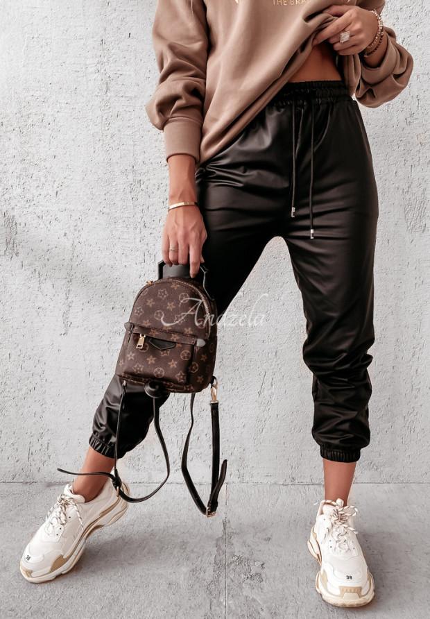 Spodnie Woskowane Chanti Black