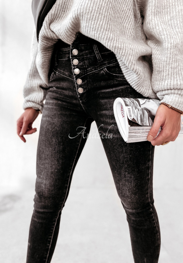 Spodnie Jeans Bassino Dark Grey