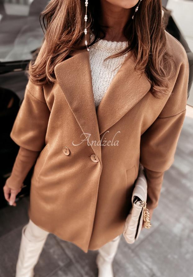 Płaszcz Oversize Olivia Camel