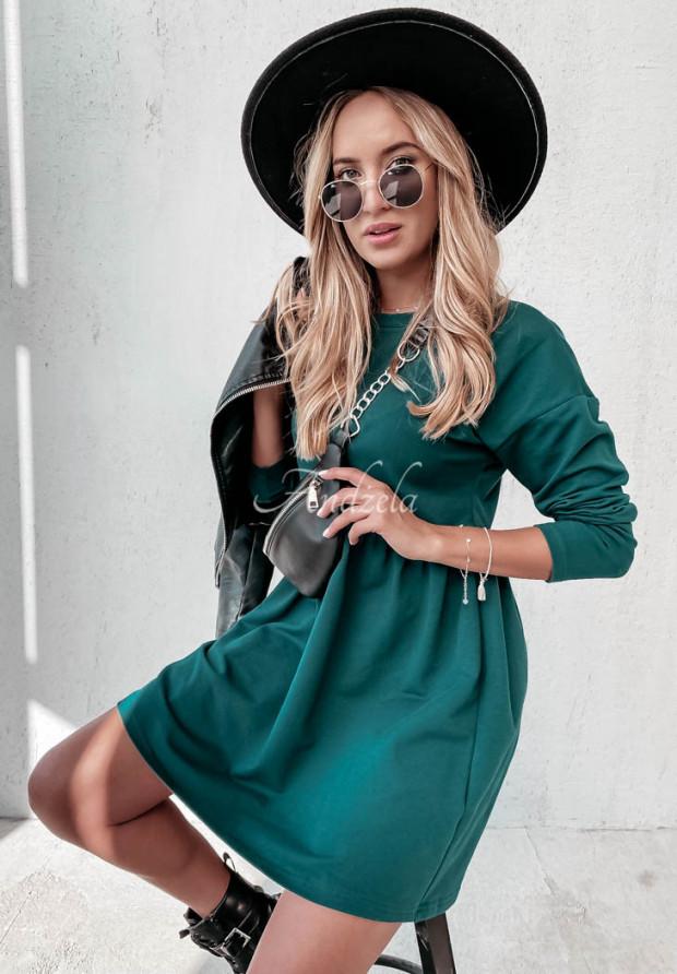 Sukienka Fergie Bottle Green