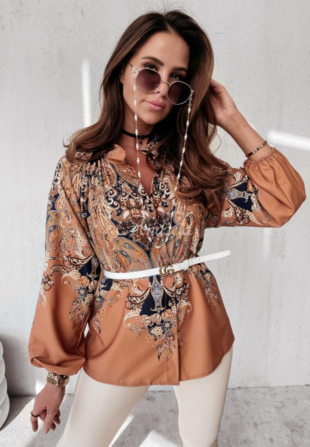 Koszula Mandria Camel&Navy