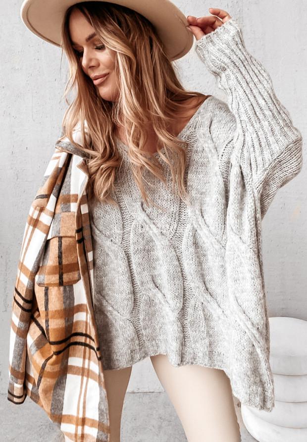 Sweter Morley Grey