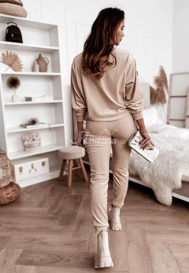 Spodnie Welur Amma Nude