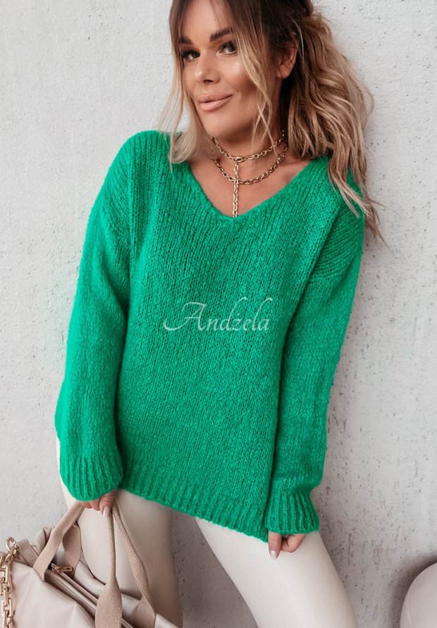 Sweter Moher Astrin Green
