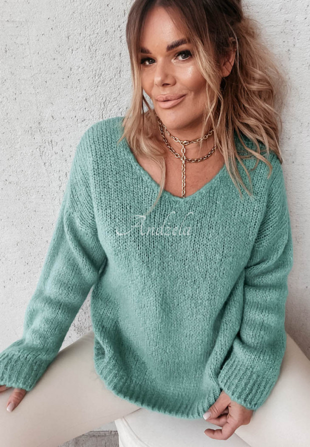 Sweter Moher Astrin Mineral
