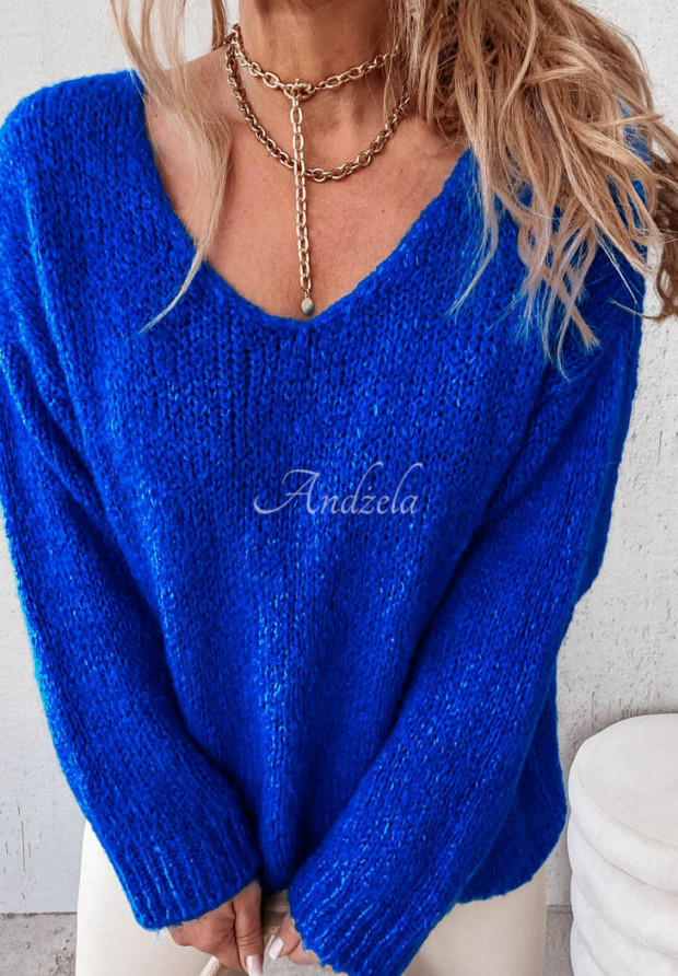 Sweter Moher Astrin Cobalt