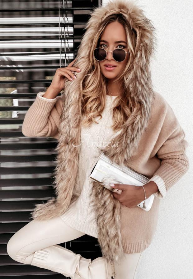 Sweter Kardigan Narania Camel