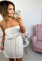 Sukienka Mini Romance Biała