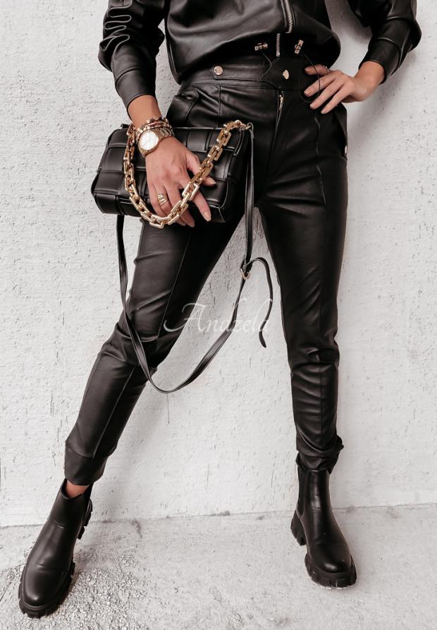 Spodnie Woskowane Darra Black