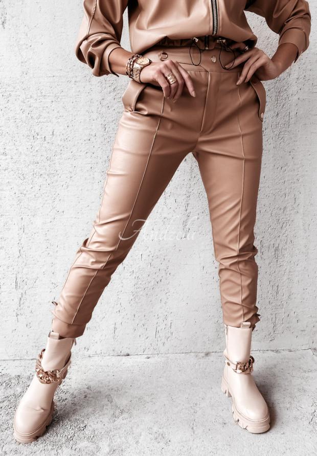 Spodnie Woskowane Darra Camel