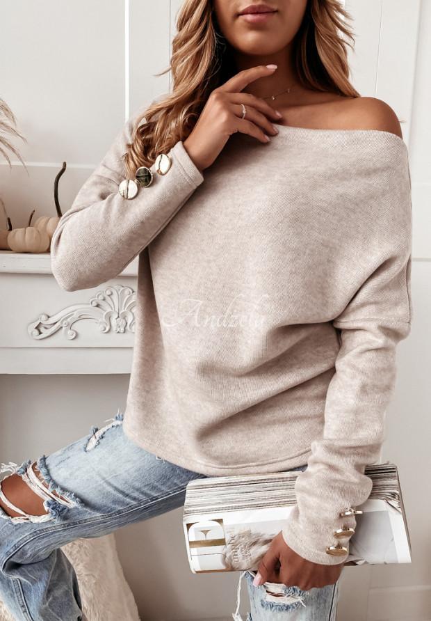 Sweter Comma Beige