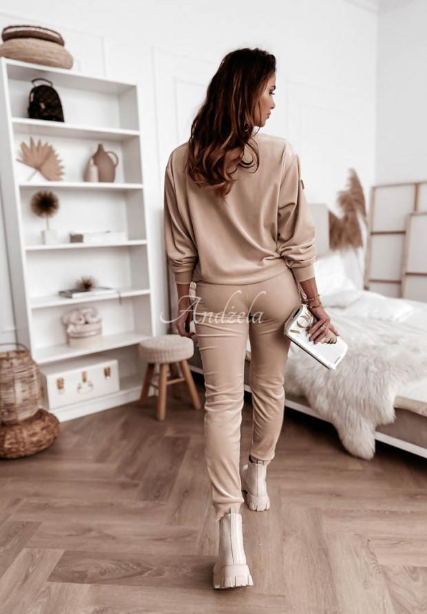 Spodnie Welur Amma Beige