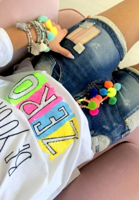 298 Shorty Fluo Jeans