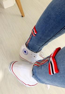 18612 Spodnie Cirlle Jeans