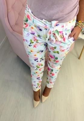 Spodnie Femme White