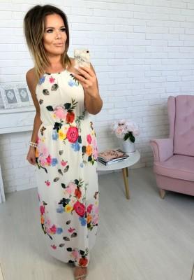 Sukienka Maxi Sunshine White II