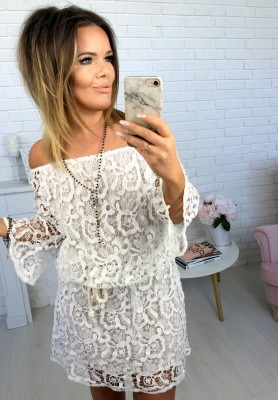 Sukienka Boho Onlys White