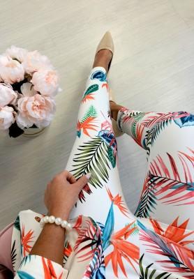 Spodnie Kwiaty Hilton I