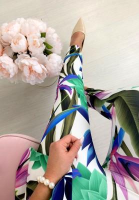 Spodnie Kwiaty Hilton IV