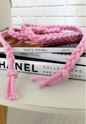 Sznur Pleciony  Pink