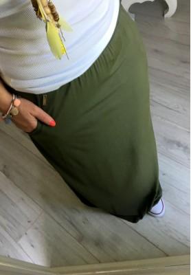 Spódnica Maxi Roma Khaki