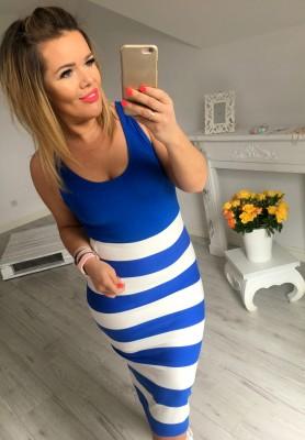 Sukienka Soap Niebieska