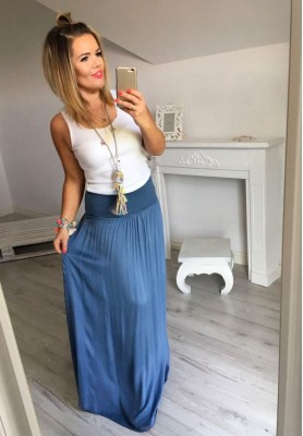 Spódnica Maxi Boho Jeans