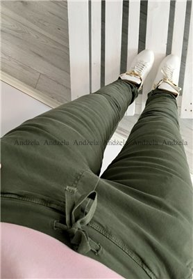 8139 Spodnie Baggy Khaki