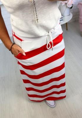 Spódnica Maxi Marina Red