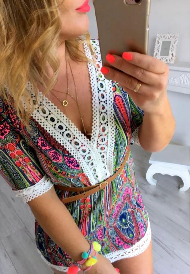 Sukienka Etno Color