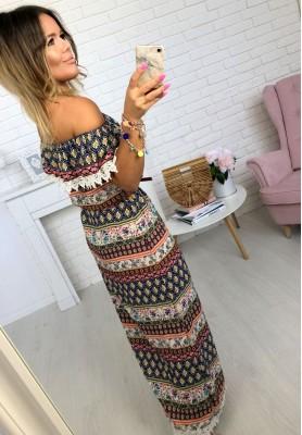 Sukienka Maxi Aztec I