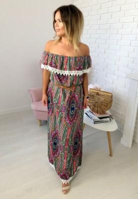 Sukienka Maxi Color