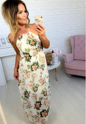 Sukienka Maxi Sunshine White III
