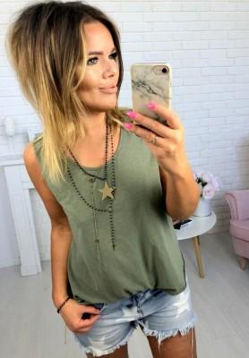 Bluzka Inez Khaki