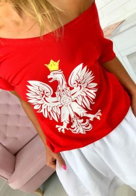 T-shirt Orzeł Red