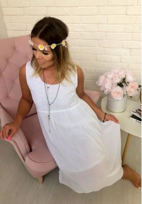 Sukienka Boho Hortense Biała