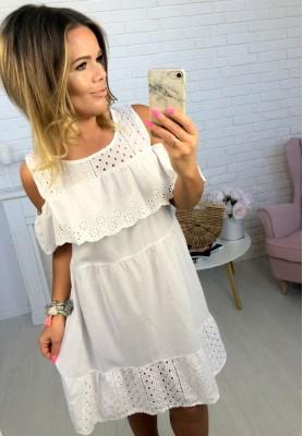Sukienka Boho Salma Biała