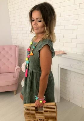 Sukienka Cora Khaki