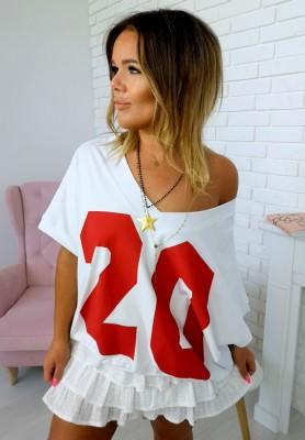 T-shirt Twenty Red
