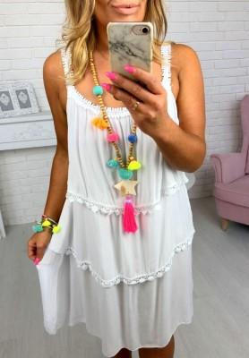 Sukienka Stacy Biała
