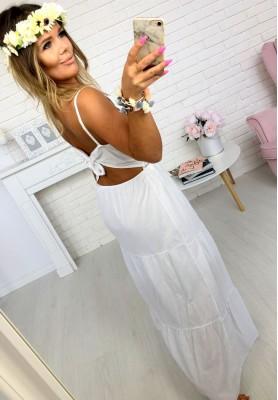 Sukienka Maxi Mandy Biała