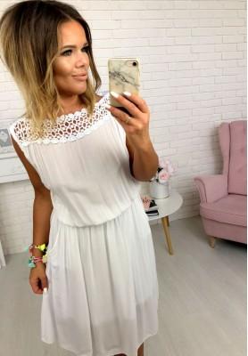 Sukienka Clarise Biała