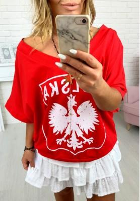 Bluzka Polska Red