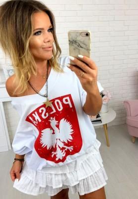 Bluzka Polska White