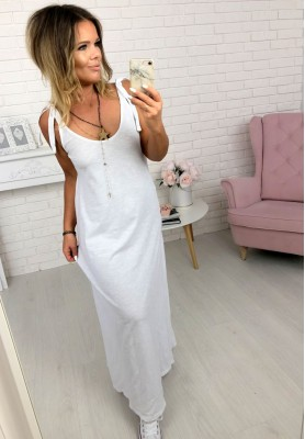 Sukienka Maxi Surrey Biała
